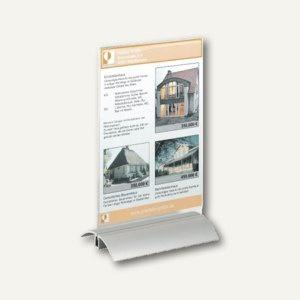 Durable Tischaufsteller Presenter DIN A5, 150 x 237 x 85 mm, 8 Stück, 8588-19