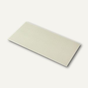 Briefumschläge mit Seidenfutter DL, 100g/m², chamois gerippt, 100 St., 16400208