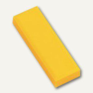 Hebel Rechteckmagnet 53 FA, Haftkraft: 1 kg, 20 St./Btl., gelb, 6179113 - Vorschau