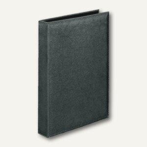 "Veloflex Ringbuch "" Exquisit"", DIN A4, 4-D-Ringe Ø 25 mm, schwarz, 5143780"