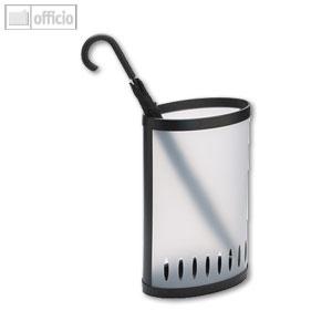 Alba Schirmständer, Kunststoff, transparent, bis 10 Schirme, PMKIT