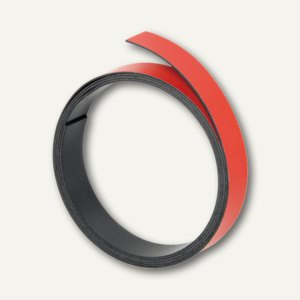 Franken Magnetband 10 mm, Länge 1 m, rot, M802 01