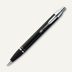 Kugelschreiber I.M., schwarzes Metallgehäuse, Strichstärke M, schwarz, 1931665
