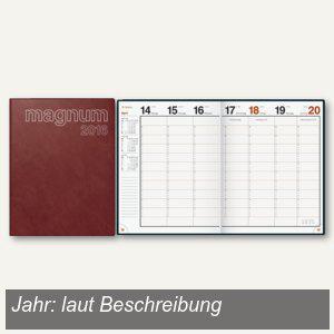 """rido-idé Dohse Buchkalender """" magnum Catana"""", 19 x 24, 5 cm, bordeaux, 702704229 - Vorschau"""