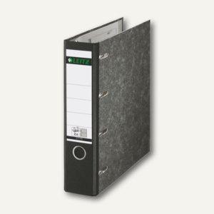 LEITZ Doppel-Ordner 2x DIN A5 quer, Rückenbreite 75mm, schwarz, 10920000