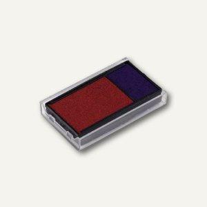 Trodat Ersatzstempelkissen 4912 Office Printy, blau/rot, 2er-Pack, 83541 - Vorschau