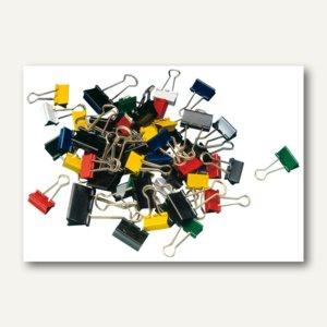 """MAUL Foldback-Klemmer """" mauly 215"""", (B)19 & 25 mm, sortiert, 5x 24 St., 2157699"""