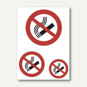 """Herma Hinweisetiketten, """" Nicht rauchen"""", wetterfest, 10 x 3 Etiketten, 5736"""