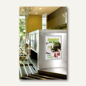 Durable Inforahmen DURAFRAME®, DIN A3, selbstklebend, silber, 2 Stück, 4873-23