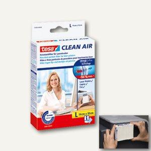 Tesa Feinstaubfilter Clean Air, weiß, Größe L (140 x 100 mm), 50380-00000-00