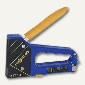 Regur Handtacker für verschiedene Einsatzbereiche, Metall/Kunststoff, R-45
