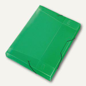 Veloflex Sammelbox Crystal A4, PP, 30mm Füllhöhe, transp. grün, 12 St., 4443240 - Vorschau