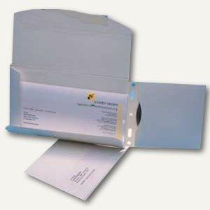 Versandkuvert CD Versand DIN lang, mit Fenster, Archivtasche, selbstklebend, 50