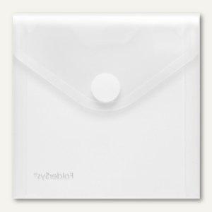 FolderSys CD-/Booklet-Hülle, PP transparent, für 3 CDs, 100 Stück, 40124-04