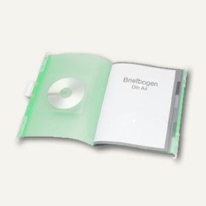 FolderSys PP Hänge-Ordnungsmappe mit Register, Umschlag grün, 10 Stück, 70042-54