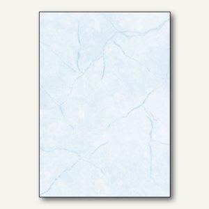 Sigel Struktur-Papier, DIN A4, Granit blau, 90 g/m², 100 Blatt, DP639