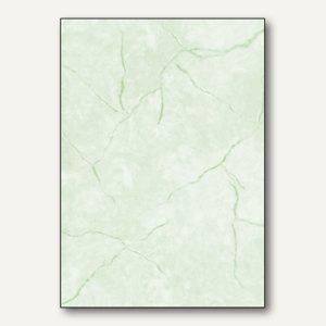 Sigel Struktur-Papier, DIN A4, Granit grün, 90 g/m², 100 Blatt, DP641
