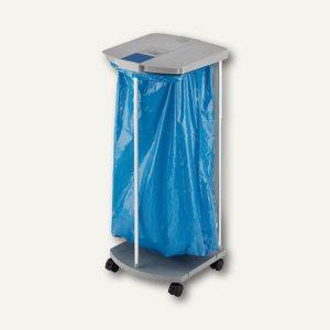 Hailo Müllsackständer ProfiLine WS 120 mobil, Inh. 120L, mit Rollen, 0912-210