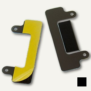 Durable Abheftstreifen, DURACLIP®, schwarz, 100 Stück, 8098-01