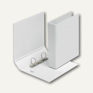 Präsentationsringbücher VELODUR, DIN A5, 2 D-Ringe Ø 30 mm, weiß, 10 Stück, 4157