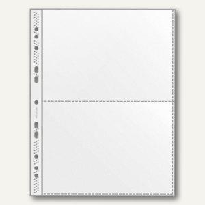 Veloflex Sammelhülle DIN A4, für 2 x DIN A5 quer, PP 120 my, 100 Stück, 5335000