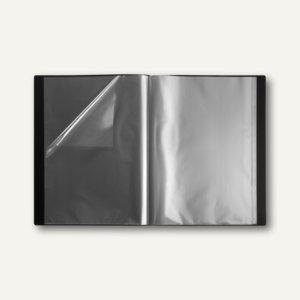 Präsentations-Sichtbuch neutral DIN A3, 30 Hüllen, Rücken-/Deckel-Tasche, 5 Stüc