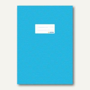 Herma Heftschoner DIN A4, PP, hellblau gedeckt, 50 Stück, 7453