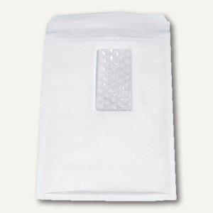 Luftpolstertaschen mit Fenster & Kombiverschluss, 200 x 275 mm, weiß, 100 St.