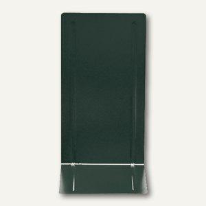 Alco Buchstützen, Metall, 130 x 240 x 140 mm, schwarz, 2 Stück, 4303-11