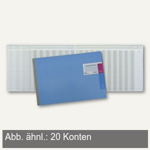 König & Ebhardt Amerikanisches Journal, 48 Blatt, 20 Konten, 8617701