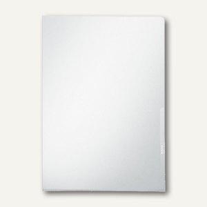 Sichthülle PREMIUM, DIN A4, PVC 0.15 mm, transparent-milchig, 100 St.