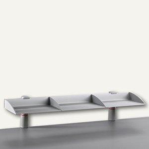 Novus BoardMaster 100, 1 Aluminium-Regal 100 cm, 2 Zwingen, lichtgrau, 750+0502