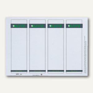 Einsteck-Rückenschilder für PC Beschriftung, breit, weiß, 100 St., 1680-00-85 - Vorschau