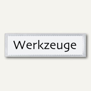 Beschriftungsfenster VELOCOLL®, 21 x 82 mm, selbstklebend, 100 Stück, 2203100