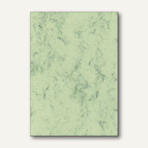 Sigel Marmor-Papier, DIN A4, 90 g/m², pastellgrün, 100 Blatt, DP263