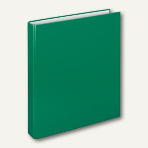 "Ringbücher "" Basic"", DIN A4, PP, 4-D-Ringe Ø 25 mm, grün, 10 Stück, 1143040"