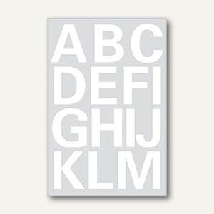 Herma Buchstaben, 25 mm, A-Z, wetterfest, Folie weiß, 20 Blätter, 4169 - Vorschau