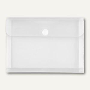 Dokumententaschen, DIN A5 quer, Dehnfalte 30 mm, klar, 100 St., 40114-04