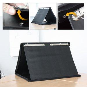 officio Tisch-Flipchart für DIN A2, Querformat, Kunstleder, 374522