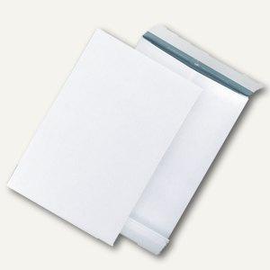 Enduro Faltentasche C4 ohne Fenster, haftklebend, weiß, 100 St./Pack, 0-7710110 - Vorschau
