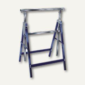 Brennenstuhl Arbeitsbock MB 160 H, blau/silber, klappbar, 1444700
