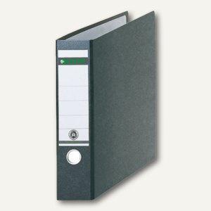 LEITZ Ordner für DIN A3 quer, 318 x 480 mm, Rücken 80 mm, schwarz, 10730000