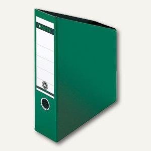 LEITZ Stehsammler Hartpappe DIN A4, grün, 2423-00-55