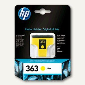 HP Tintenpatrone Nr. 363, gelb, 6 ml, C8773EE
