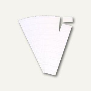 Ultradex Steckkarten für Planrecord Tafeln, 5 cm, weiß, 90er Pack, 140508