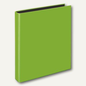 Ringbücher VELOCOLOR A4, Karton, 4 D-Ringe Ø 25 mm, hellgrün, 10 Stück, 1143341