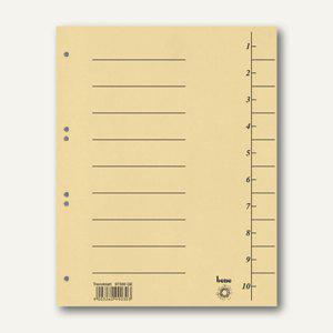 Bene Trennblätter DIN A4, Karton 250 g/m², 235 x 300 mm, gelb, 100 Stück, 97300 - Vorschau