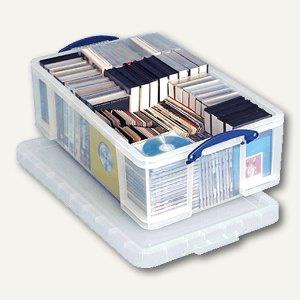 Aufbewahrungsbox 50 Liter, 710 x 440 x 230 mm, transparent, 4800517