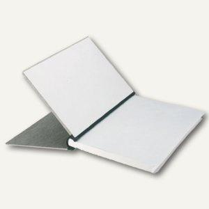LEITZ Klemmbinder, DIN A4, Deckel grau, Rücken schwarz, 200 Blatt, 3944-00-85