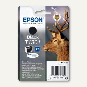 Tintenpatrone T1301 XL für SX525WD/SX620FW, ca. 945 Seiten, schwarz